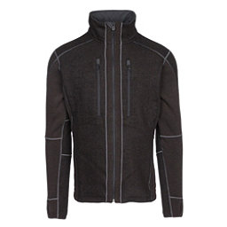 KUHL Interceptr Full Zip Mens Sweater, Charcoal, 256
