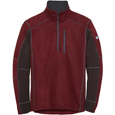 KUHL Interceptr 1/4 Zip Mens Sweater, Brick, viewer