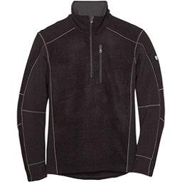 KUHL Interceptr 1/4 Zip Mens Sweater, Black, 256
