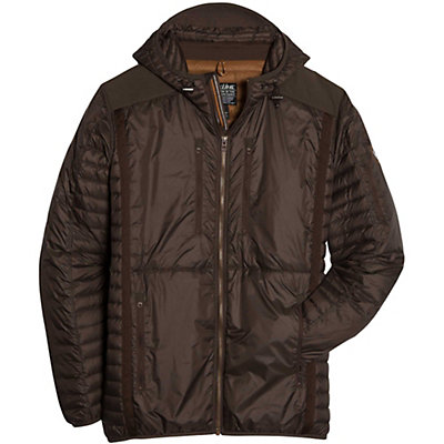 KUHL Spyfire Hoody Mens Jacket, Espresso, viewer