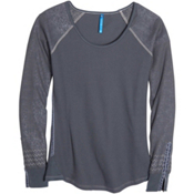 KUHL Alva Thermal Womens Shirt, Carbon, medium