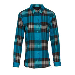 KUHL Ophelia Womens Flannel Shirt, Turkish Sea, 256
