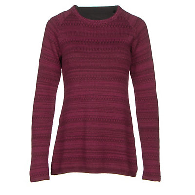 KUHL Alessandra Womens Sweater, Claret, viewer