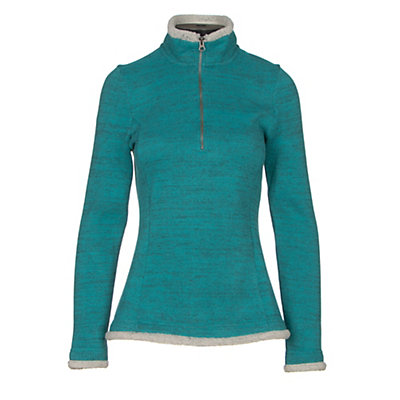 KUHL Alska 1/4 Zip Womens Mid Layer, Jasper, viewer