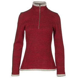 KUHL Alska 1/4 Zip Womens Mid Layer, Red Spice, 256