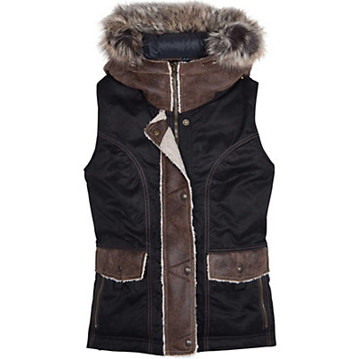 KUHL Arktik Down Womens Vest, Raven, viewer
