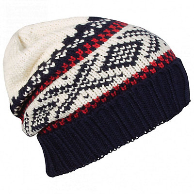 Dale Of Norway Voss Hat, Navy-Raspberry-Off White, viewer
