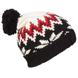 Dale Of Norway Myking Hat, Black-Off White-Raspberry, 256