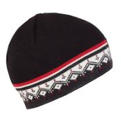 Dale Of Norway St. Moritz Hat, Dark Charcoal-Raspberry, medium
