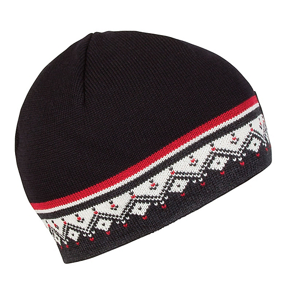 Dale Of Norway St. Moritz Hat, Dark Charcoal-Raspberry, 600