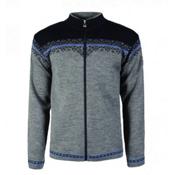 Dale Of Norway Nordlys Masculine Mens Sweater, Smoke-Cobalt-Navy, medium
