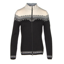 Dale Of Norway Nordlys Womens Sweater, Black-Metal Grey-Off White, 256