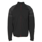 Dale Of Norway Beito Masculine Mens Sweater, Black-Dark Charcoal, medium