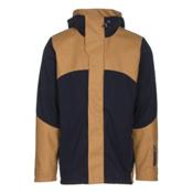 Dale Of Norway Stryn Masculine Mens Jacket, Navy-Mustard, medium
