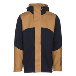 Dale Of Norway Stryn Masculine Mens Jacket, Navy-Mustard, 256