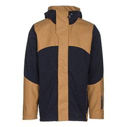 Dale Of Norway Stryn Masculine Mens Jacket, Navy-Mustard, 256