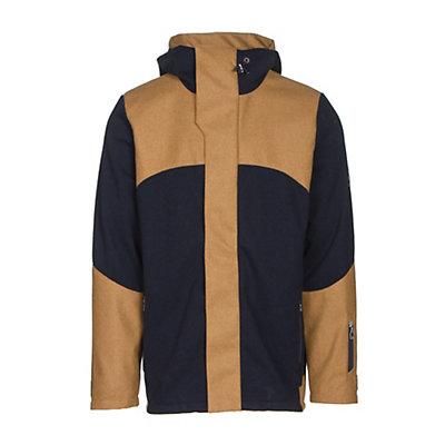 Dale Of Norway Stryn Masculine Mens Jacket, Navy-Mustard, viewer