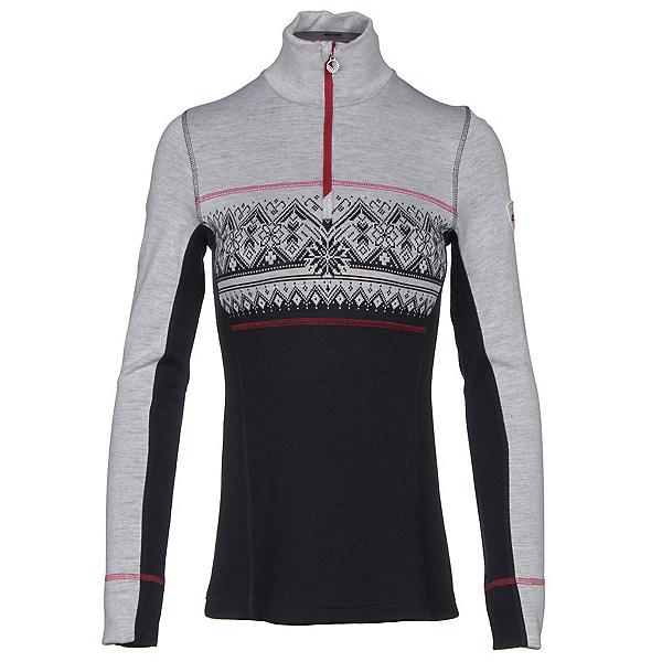 Dale Of Norway Rondane Feminine Womens Sweater, Navy-White Melange-Raspberry, 600