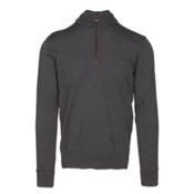 Dale Of Norway Olav Masculine Mens Sweater, Dark Grey Melange, medium