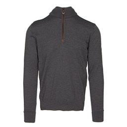 Dale Of Norway Olav Masculine Mens Sweater, Dark Grey Melange, 256
