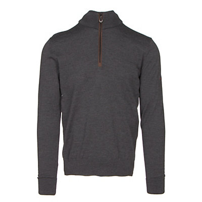 Dale Of Norway Olav Masculine Mens Sweater, Dark Grey Melange, viewer