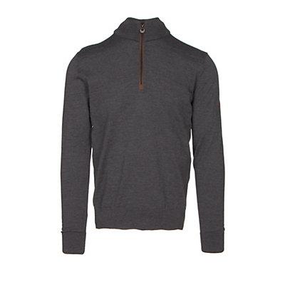 Dale Of Norway Olav Masculine Mens Sweater, Dark Grey Melange, viewer