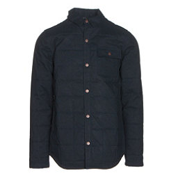 Quiksilver Agent Mens Insulated Snowboard Jacket, Navy Blazer, 256