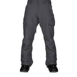 Quiksilver Porter Insulated Mens Snowboard Pants, Quiet Shade, 256