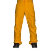 Quiksilver Porter Insulated Mens Snowboard Pants, Cadmium Yellow, medium