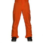 Quiksilver Porter Insulated Mens Snowboard Pants, Flame, medium