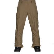 Quiksilver Porter Insulated Mens Snowboard Pants, Elmwood, medium