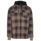 Quiksilver Connector Riding Flannel Shirt, Flannel Elmwood, medium