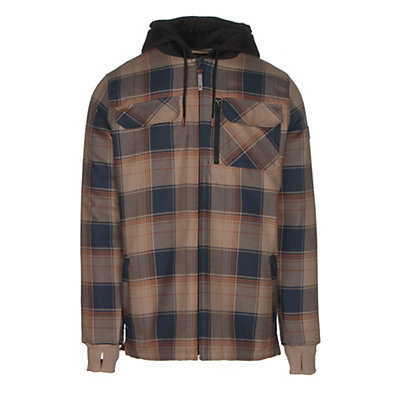 Quiksilver Connector Riding Mens Flannel Shirt, Flannel Elmwood, viewer