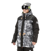 Picture Under Lucky Mens Insulated Snowboard Jacket, , medium