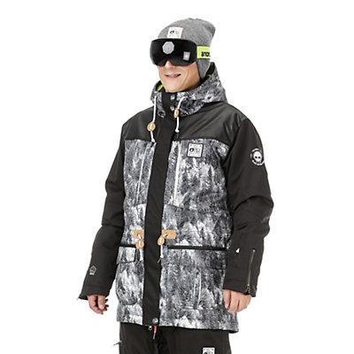 Picture Under Lucky Mens Insulated Snowboard Jacket, , viewer