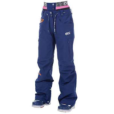 Picture Slany Womens Ski Pants, Dark Blue, viewer