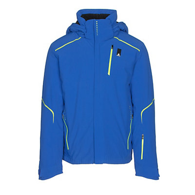Salomon Whitelight Mens Insulated Ski Jacket, Blue Yonder, viewer