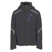 Salomon Whitelight Mens Insulated Ski Jacket, Black, medium