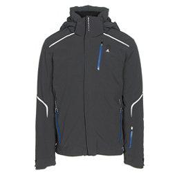 Salomon Whitelight Mens Insulated Ski Jacket, Black, 256