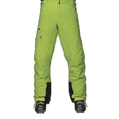 Salomon Whitelight Mens Ski Pants, Granny Green, viewer