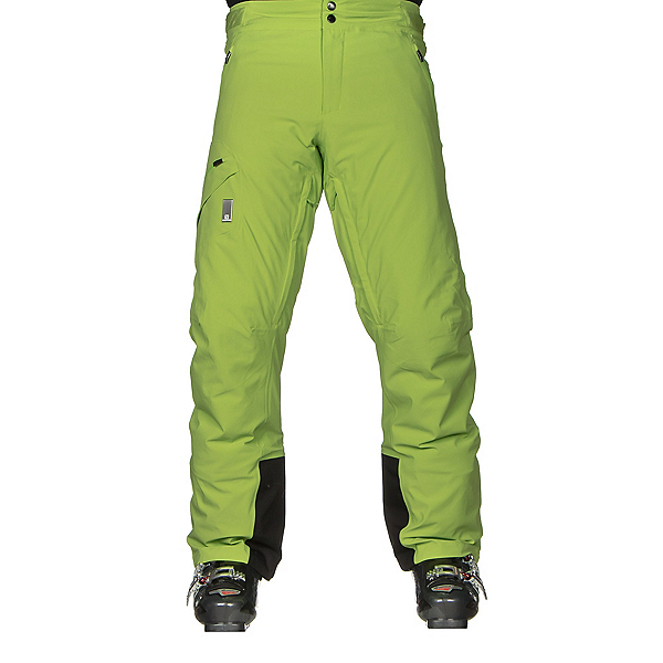 Salomon Whitelight Mens Ski Pants, Granny Green, 600