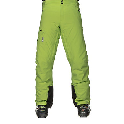 Salomon Whitelight Mens Ski Pants, Granny Green, viewer