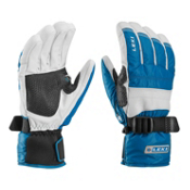 Leki Mountain Trail S Gloves, Blue-White, medium