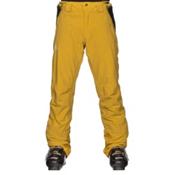 Salomon Iceglory Mens Ski Pants, Alpha Yellow, medium
