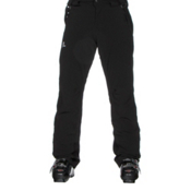 Salomon Iceglory Mens Ski Pants, Black, medium