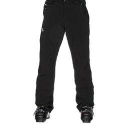 Salomon Iceglory Mens Ski Pants, Black, 256