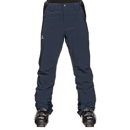 Salomon Iceglory Mens Ski Pants, Big Blue X, 256