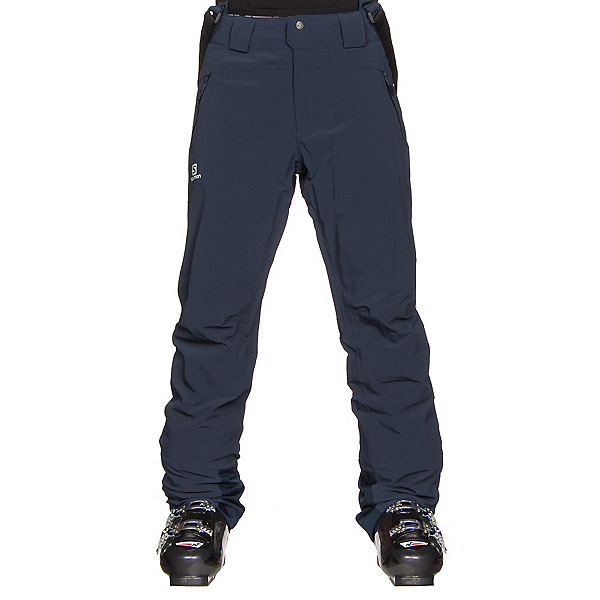 Salomon Iceglory Mens Ski Pants, Big Blue X, 600