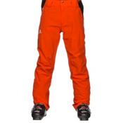 Salomon Iceglory Mens Ski Pants, Vivid Orange, medium