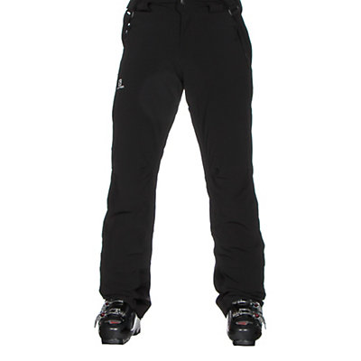 Salomon Iceglory Short Mens Ski Pants, Black, viewer